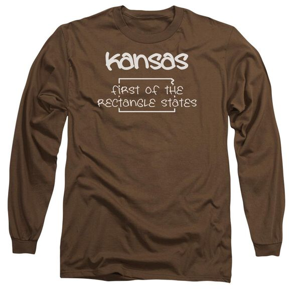 Kansas Long Sleeve Adult T-Shirt