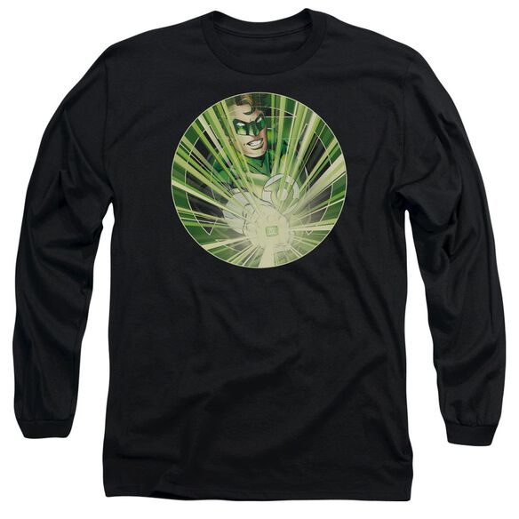 Green Lantern Light Em Up Long Sleeve Adult T-Shirt
