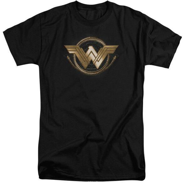 Wonder Woman Movie Lasso Logo Short Sleeve Adult Tall T-Shirt
