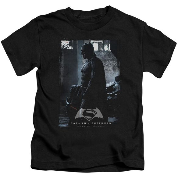 Batman V Superman Bat Poster Short Sleeve Juvenile T-Shirt