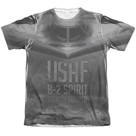 Air Force Stealth Adult Poly Cotton Short Sleeve Tee T-Shirt