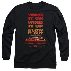 Pontiac Blow It Out Gto Long Sleeve Adult T-Shirt