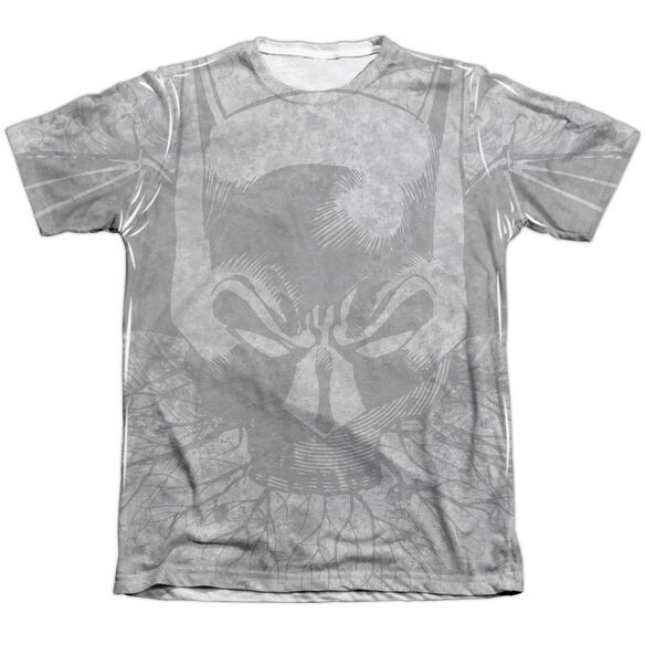 Batman Rooted Bat Skull Adult 65 35 Poly Cotton Short Sleeve Tee T-Shirt