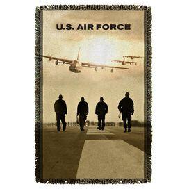 Air Force Long Walk Woven Throw