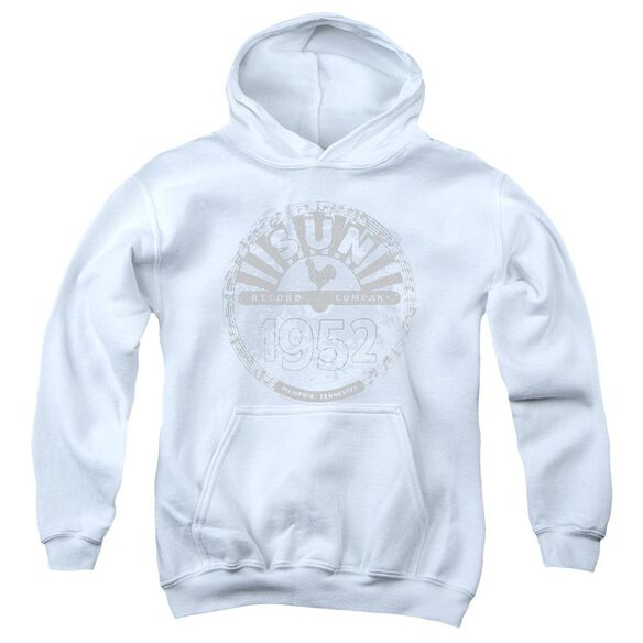 Sun Records Crusty Logo Youth Pull Over Hoodie