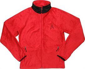 Star Trek TOS Engineering Fleece Jacket