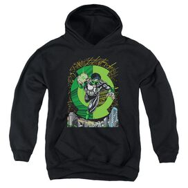 Green Lantern Gl #51 Cover-youth Pull-over Hoodie - Black