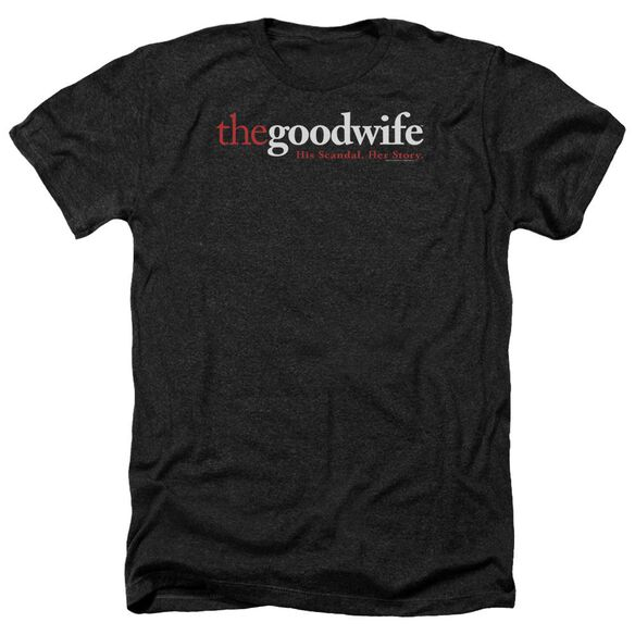 The Good Wife Logo Adult Heather