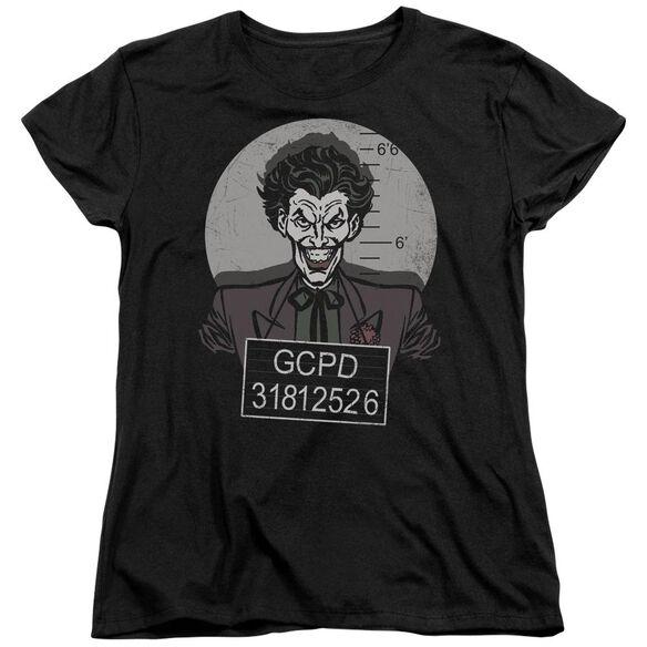 Batman Busted! Short Sleeve Womens Tee T-Shirt