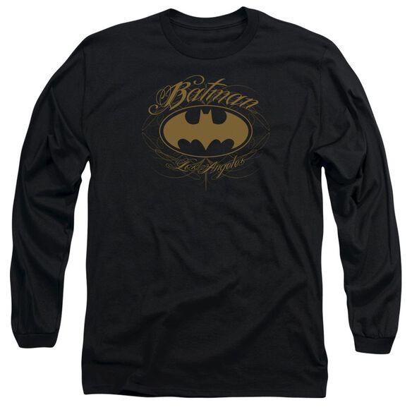 Batman Batman La Long Sleeve Adult T-Shirt