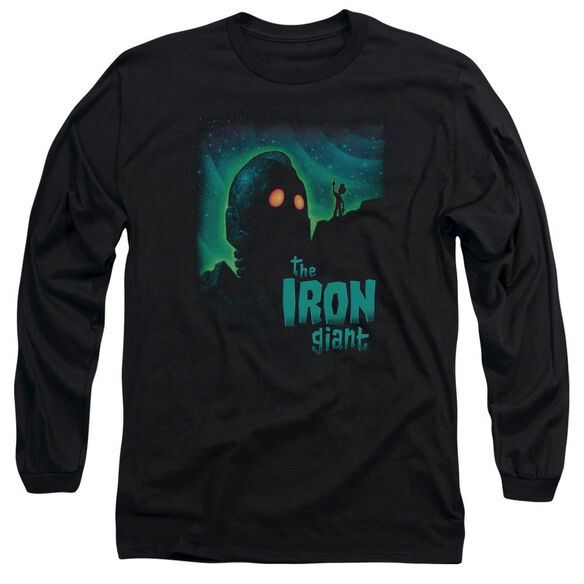 Iron Giant Look To The Stars Long Sleeve Adult T-Shirt