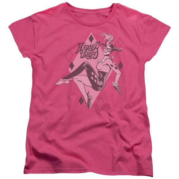 Dc Harley Quinn Short Sleeve Womens Tee Hot T-Shirt