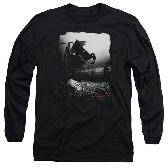 Sleepy Hollow Foggy Night Long Sleeve Adult T-Shirt