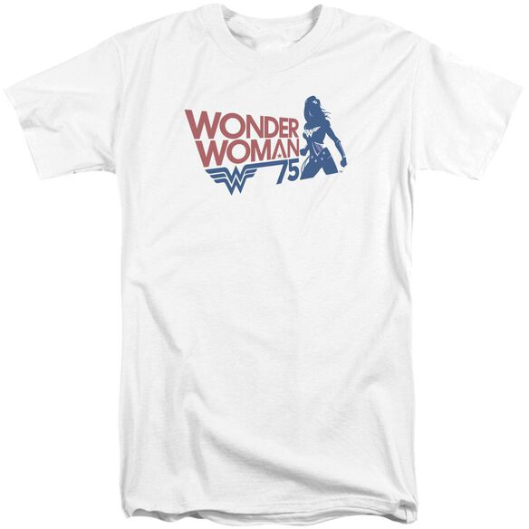 Wonder Woman Ww75 Silhouette Short Sleeve Adult Tall T-Shirt