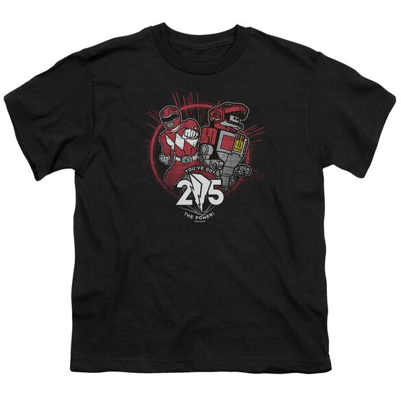 Power Rangers Red 25 Short Sleeve Youth T-Shirt
