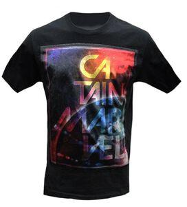 Captain Marvel Velvet Patch T-Shirt
