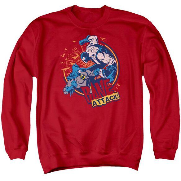 Batman Bane Attack! Adult Crewneck Sweatshirt