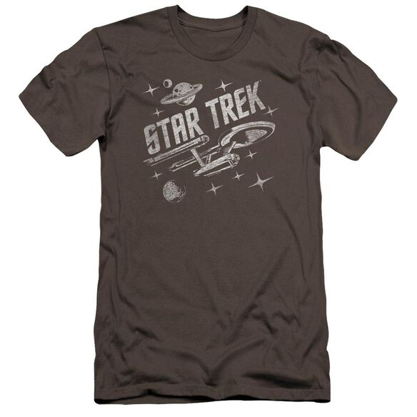 Star Trek Through Space Premuim Canvas Adult Slim Fit