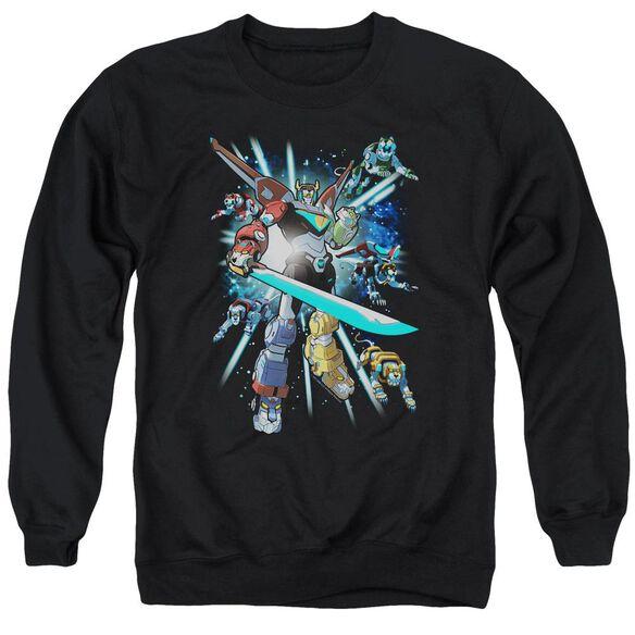 Voltron Lions Share Adult Crewneck Sweatshirt