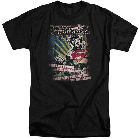 Superman Last Hope Short Sleeve Adult Tall T-Shirt