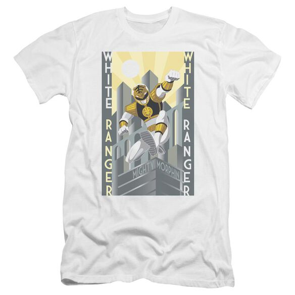 Power Rangers Ranger Deco Premuim Canvas Adult Slim Fit
