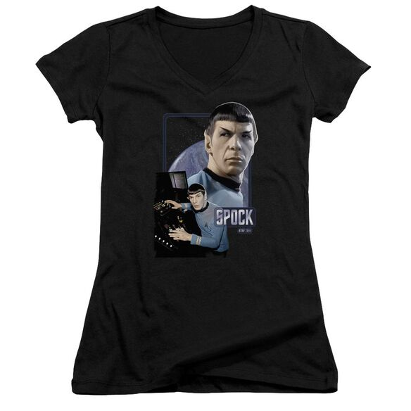 Star Trek Spock Junior V Neck T-Shirt