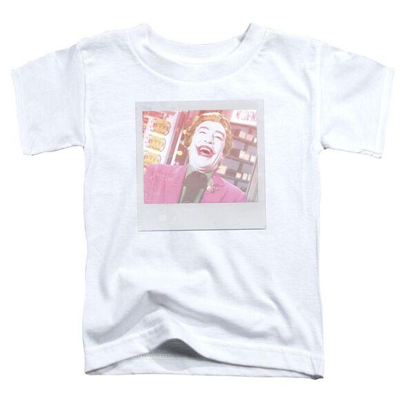 Batman Classic Tv Captured Short Sleeve Toddler Tee White T-Shirt