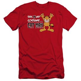 Garfield Cat Man Premuim Canvas Adult Slim Fit