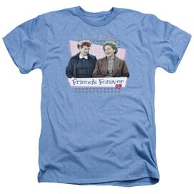 I LOVE LUCY FRIENDS FOREVER - ADULT HEATHER - LIGHT BLUE