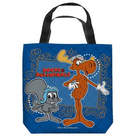 Rocky & Bullwinkle Framed Friends Tote