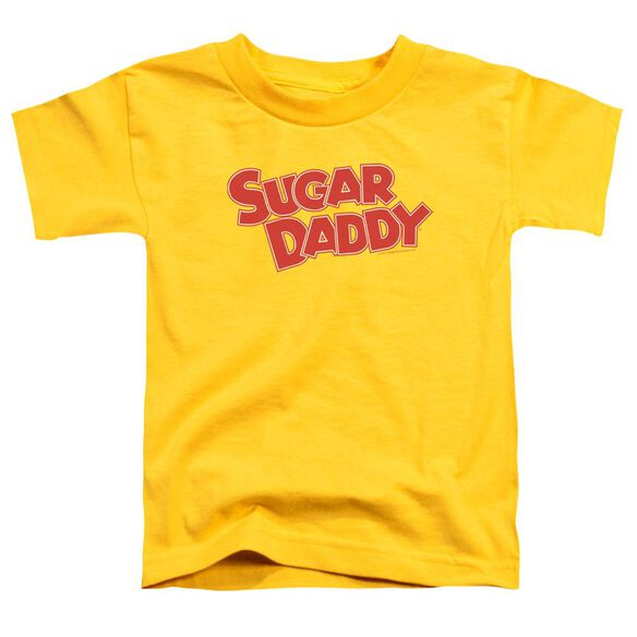 Tootsie Roll Sugar Daddy Short Sleeve Toddler Tee Yellow Sm T-Shirt