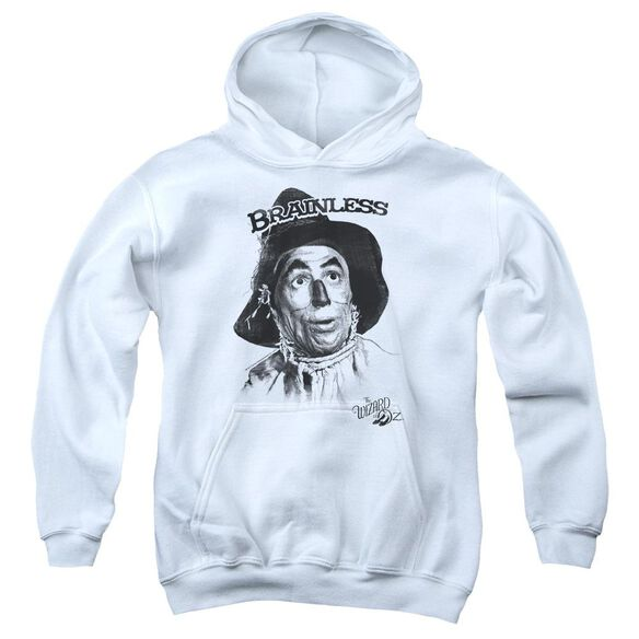 Wizard Of Oz Brainless Youth Pull Over Hoodie