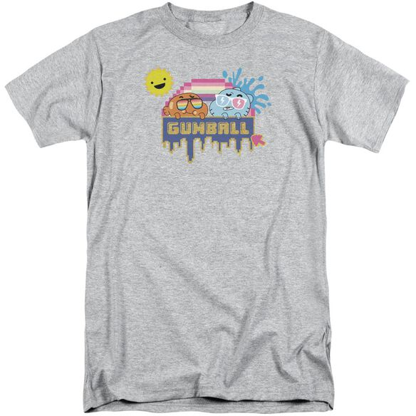 Amazing World Of Gumball Sunshine Short Sleeve Adult Tall Athletic T-Shirt