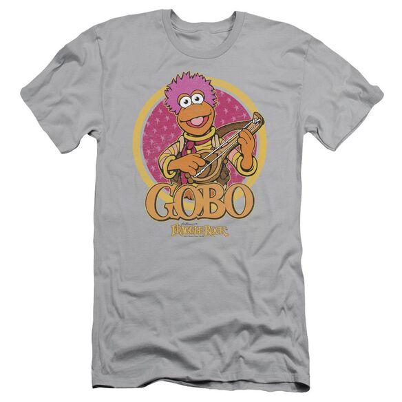 Fraggle Rock Gobo Circle Short Sleeve Adult T-Shirt