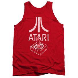 Atari Joystick Logo Adult Tank