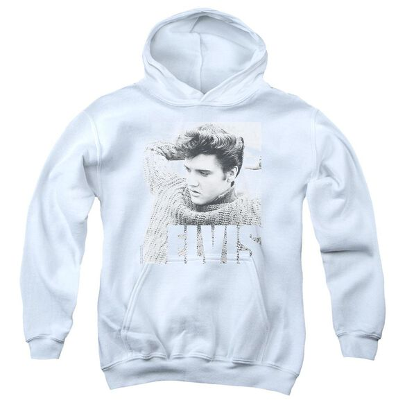 Elvis Relaxing Youth Pull Over Hoodie