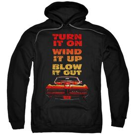 Pontiac Blow It Out Gto Adult Pull Over Hoodie
