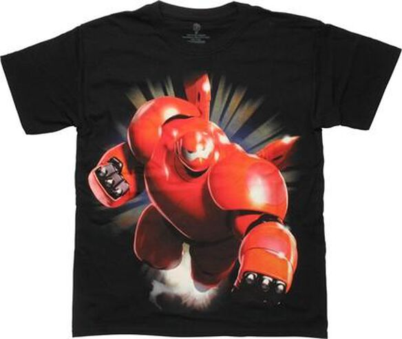 Big Hero 6 Baymax Heroic Youth T-Shirt