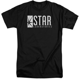 The Flash S.T.A.R. Short Sleeve Adult Tall T-Shirt