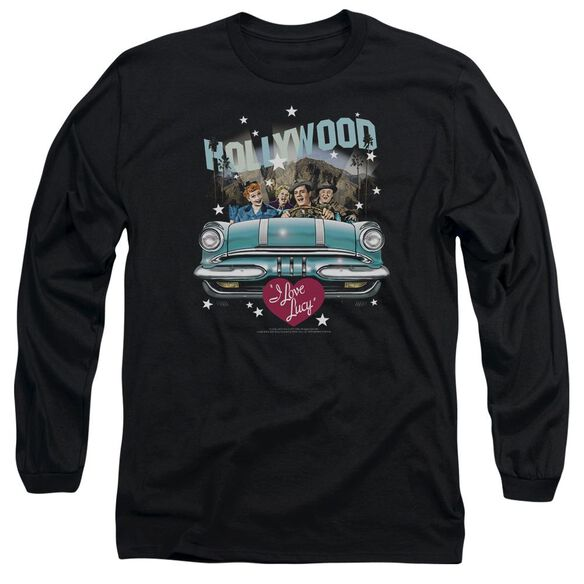 I Love Lucy Hollywood Road Trip Long Sleeve Adult T-Shirt