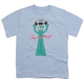 Gumby Clay Anything Short Sleeve Youth Light T-Shirt