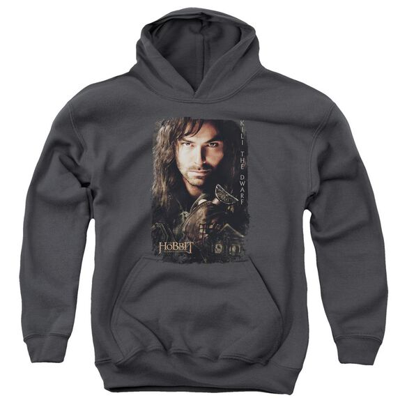 Hobbit Kili Poster Youth Pull Over Hoodie