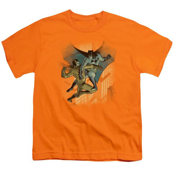 BATMAN BATMAN VS CATMAN - S/S YOUTH 18/1 - ORANGE T-Shirt