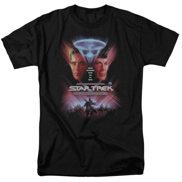 Star Trek The Final Frontier(Movie) Short Sleeve Adult T-Shirt