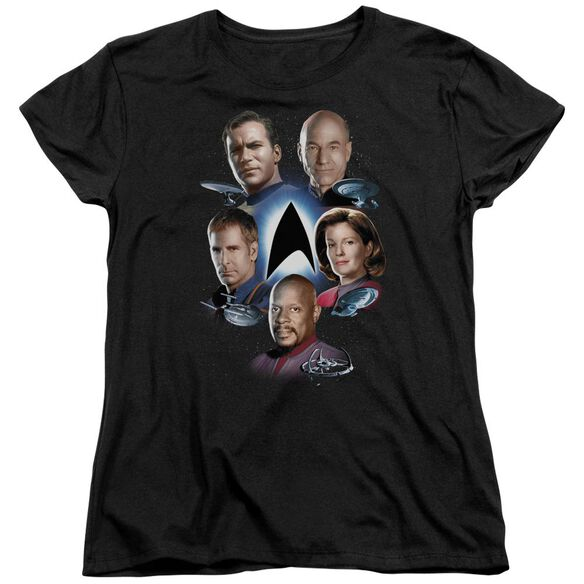 Star Trek Starfleets Finest Short Sleeve Womens Tee T-Shirt