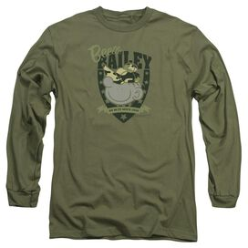 Beetle Bailey On Duty Long Sleeve Adult Military T-Shirt