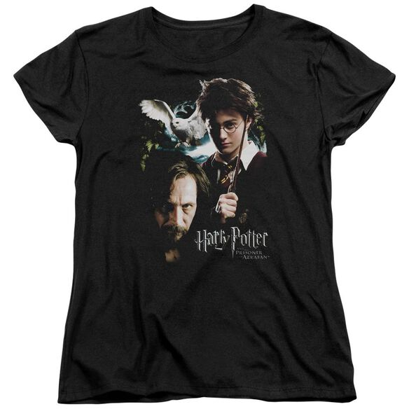 Harry Potter Harry And Sirius Short Sleeve Womens Tee T-Shirt