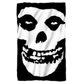 Misfits Fiend Skull Fleece Blanket