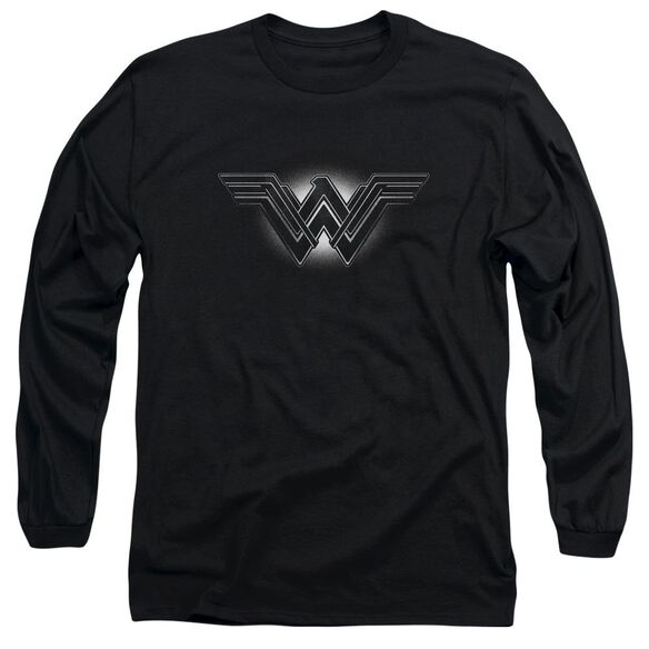 Batman V Superman Glow Emblem Long Sleeve Adult T-Shirt