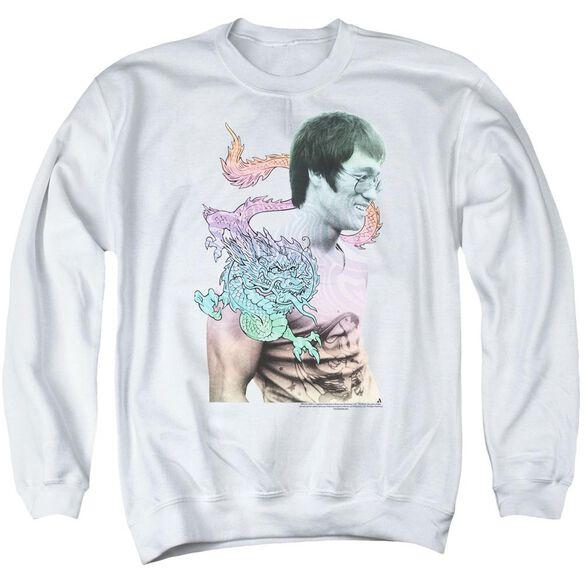 Bruce Lee A Little Bruce Adult Crewneck Sweatshirt